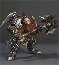 World of Warcraft® Action Figure - Dwarf Warrior-Thargas Anvilmar