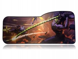 Коврик Overwatch Large Gaming Mouse Pad - GENJI Гэндзи (70*32 см) Curve