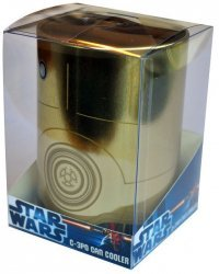 Подставка STAR WARS - C-3PO Retro Metal Can Cooler