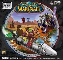 Mega Bloks World of Warcraft: Barrens Chase Set