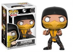 Фигурка Funko Pop Mortal Kombat - Scorpion Фанко Мортал комбат Скорпион