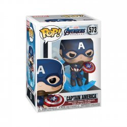 Фигурка Funko Pop! Marvel: Avengers Endgame - Captain America with Broken Shield Mjoinir