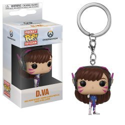 Брелок - Funko Pocket Pop! Overwatch Keychain - D.Va