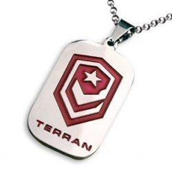 Брелок StarCraft 2 Terran Necklace