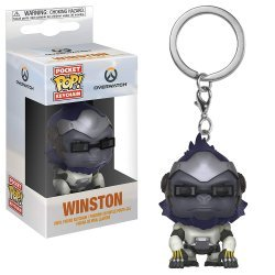 Брелок - Funko Pocket Pop! Overwatch Keychain - Winston