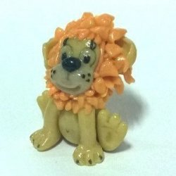 World of Warcraft pet Lion Львёнок Figure