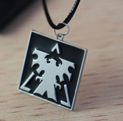 Медальон StarCraft 2 Terran  Necklace Black