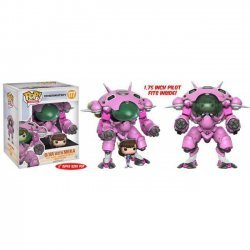 Фигурка Overwatch Funko Pop! D.Va & MEKA Buddy (Super-Sized) Figure