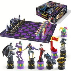 Шахматы Бэтмен The Batman Chess Set (The Dark Knight vs The Joker)