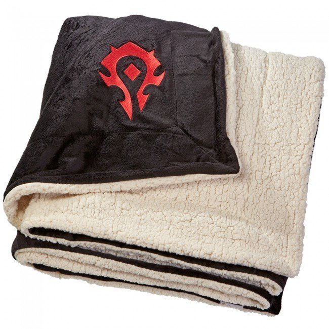 Одеяло со знаком Орды (World of Warcraft Horde Logo Blanket) 210 x 150 cm