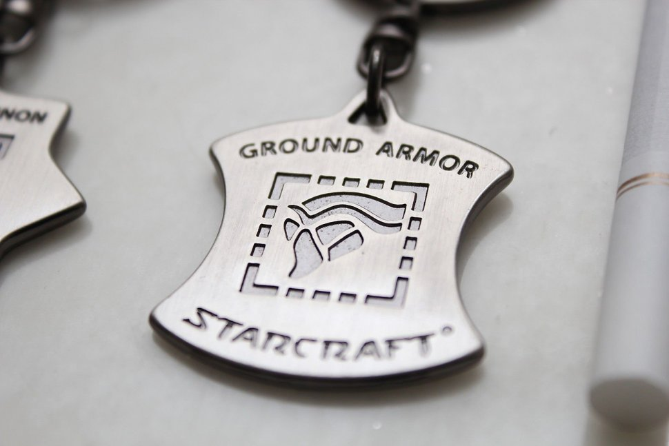 Брелок StarCraft II - Ground Armor