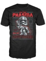 Футболка Men's Pop! T-Shirts: Star Wars - Captain Phasma (размер M)