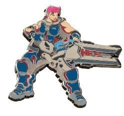 Значок 2018 Blizzcon Blizzard Collectibles Pins - Series 5 - Zarya
