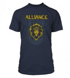 Футболка World of Warcraft Alliance Crest Version 3 T-Shirt (размер L)