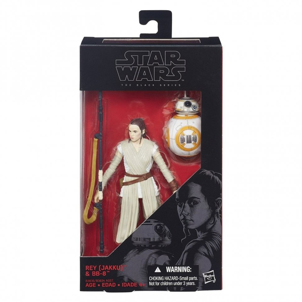Фигурка Star Wars Black Series - Rey and BB-8 Figure
