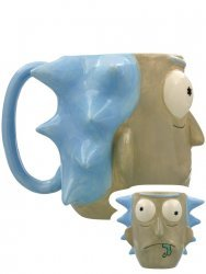 Чашка Рик и Морти - Rick Sanchez Calici Tazze 3D Sculpted Mug