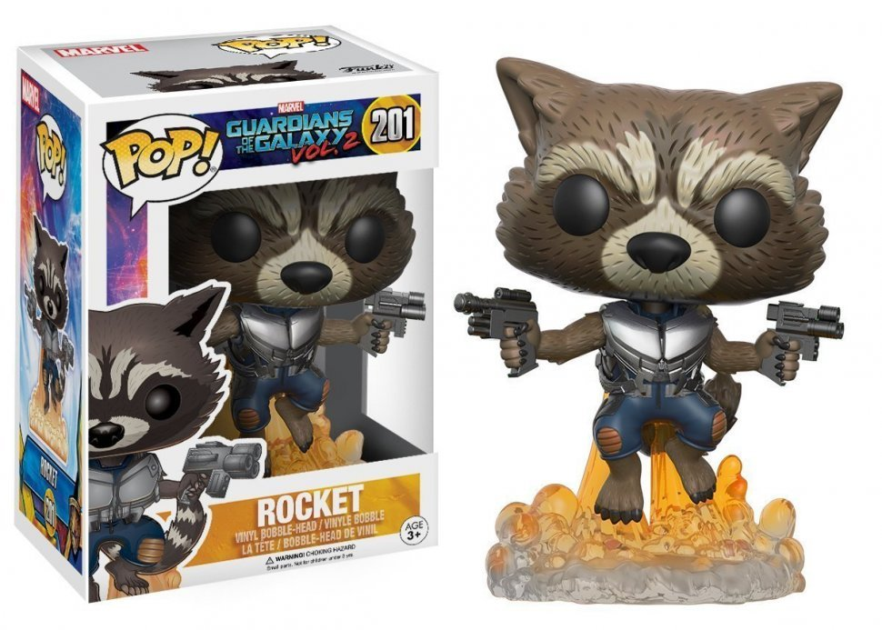 Фигурка Funko POP Guardians of the Galaxy 2 Flying Rocket Figure