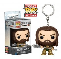 Брелок DC: Funko Pocket POP! Keychain - Justice League - Aquaman