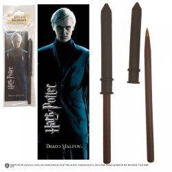 Ручка палочка Harry Potter - Draco Malfoy Wand Pen and Bookmark + Закладка