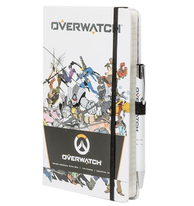 Блокнот с ручкой Overwatch Hardcover Journal and Pen