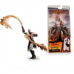 Фигурка God of War II Kratos with Flaming Blades of Athena
