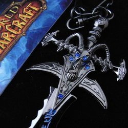 Брелок - World of Warcraft Frostmourne Sword