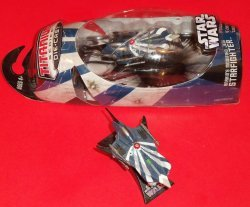 Фигурка Hasbro STAR WARS ANAKIN'S MODIFIED JEDI STARFIGHTER CLONE WARS- 2006