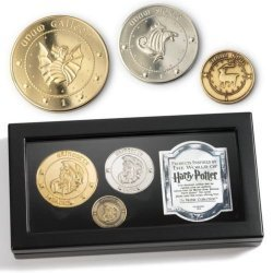 Набор монет Harry Potter Gringotts Bank Coin Collection