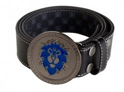 Ремень + Пряжка World of Warcraft Alliance Leather Belt