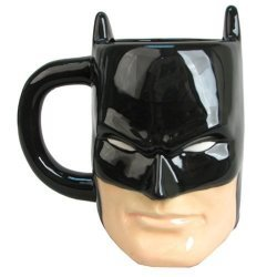 Чашка Batman Head 12 oz. Molded Mug