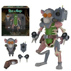 Фигурка Фанко Рик и Морти Funko Action Figure: Rick and Morty Pickle