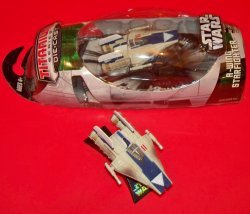 Фигурка Hasbro STAR WARS BLUE A-WING - 2006