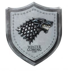 Настенный герб Game of Thrones Stark Direwolf House Crest Wall Plaque