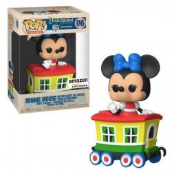Фигурка Funko Pop Disney: Minnie Mouse Casey Jr. Circus Train Attraction 06 Exclusive