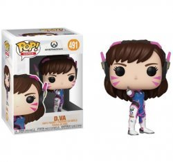 Overwatch Funko Pop D.Va Figure Фигурка Овервотч Дива