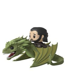 Фигурка Funko Pop! Rides TV: Game of Thrones - Jon Snow with Rhaegal