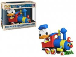 Фигурка Funko Pop Disney: Donald Duck Casey Jr. Circus Train Attraction 01