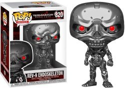 Фигурка Funko Terminator Dark Fate Rev-9 Endoskeleton 820 фанко терминатор