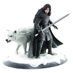 Статуэтка Game of Thrones  Jon Snow And Ghost Statue Limited edition