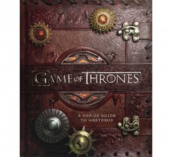 Книга 3D карта Игра престолов Вестерос Game of Thrones: A Pop-Up Guide to Westeros