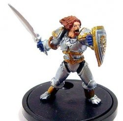 Warcraft  Miniatures Core Mini: HIGHLORD BOLVAR FORDRAGON