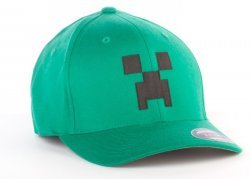 Кепка Minecraft Creeper Flexfit Hat (размер L/XL)