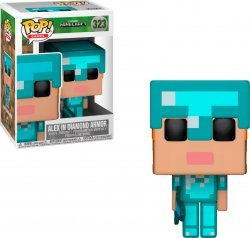 Фигурка Funko POP Games: Minecraft - Alex in Diamond Armor (Exclusive)