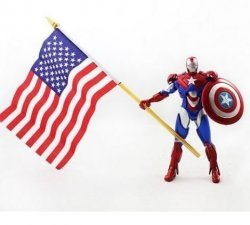 Фигурка Iron man patriot style Action Figure