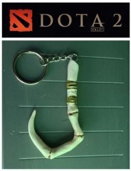 Брелок  DOTA 2 Pudge  Dragonclaw Hook