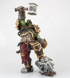 Статуэтка Варкрафт Тралл World Of Warcraft — Warchief Thrall Color Figure