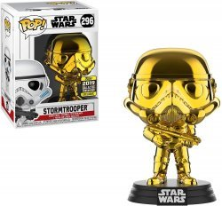 Фигурка Funko Pop Star Wars - Stormtrooper (2019 Galactic Convention Exclusive) Штурмовик