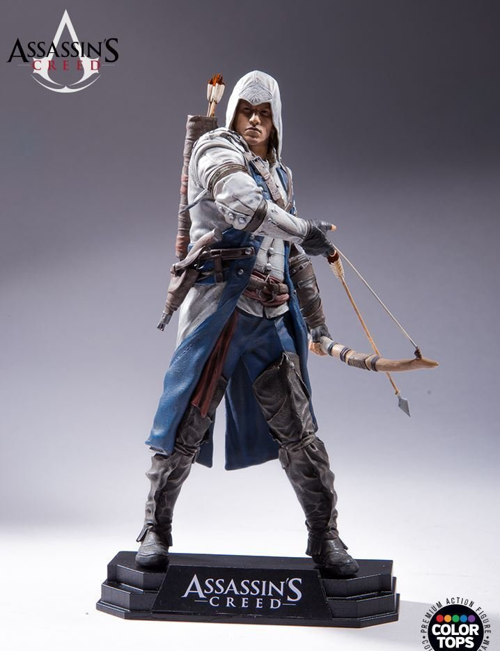 Фигурка McFarlane UBISOFT Assassins Creed - Connor Action Figure COLOR TOPS