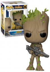 Фигурка Funko Pop! Bobble: Marvel - Avengers Infinity War: Groot Figure