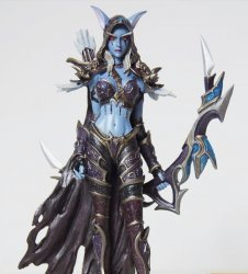 World of Warcraft Sylvanas Windrunner Forsaken Queen Limted Figure